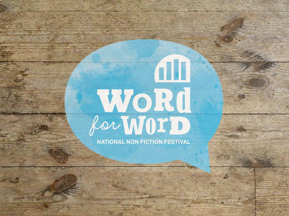 GEELONG REGIONAL LIBRARIES: Word For Word Festival New Brand Identity