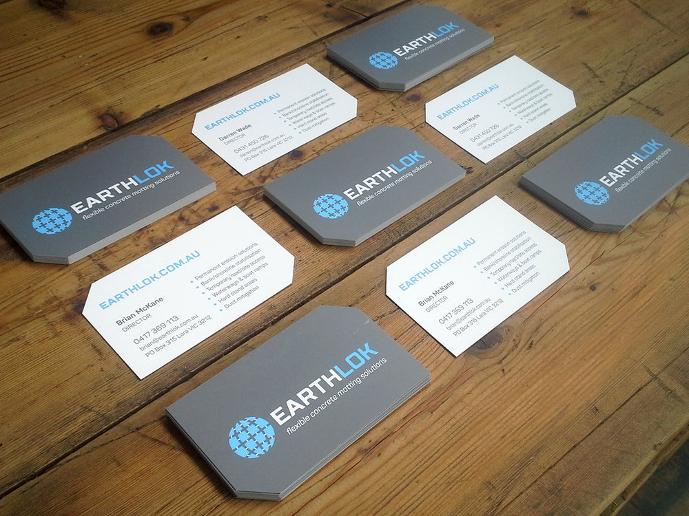 EARTHLOK - Brand design & Business Cards