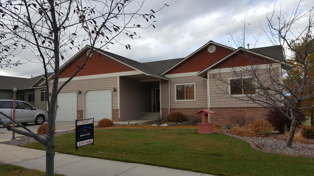 Currently leased through Spring 2018.This is an amazing home in the Maloney Ranch neighborhood of Missoula. Spacious bedrooms, master suite with large walk in closet and bath with shower and tub. 5 bedrooms, 3 full baths, and attached 2 car garage. Includes range, microwave, dishwasher, and refrigerator. High end finishes throughout. Amazing views off the deck. Open floorplan with tons of light. Rent: $1,800/Mo Deposit: $1,900. Pets considered. 6 month lease.. Call Christina for a showing: 406-552-5908. This property is listed with ABC Property Management of Missoula. Sheila Mischke Broker.      Click Photo Below to Scroll through Gallery