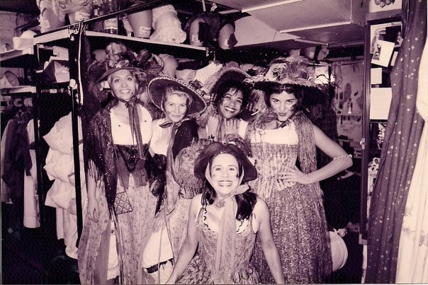 Backstage at Les Miserables Broadway