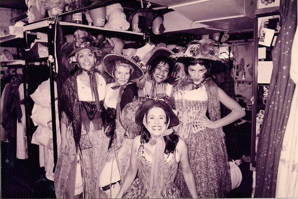 Backstage at Les Miserables Broadway
