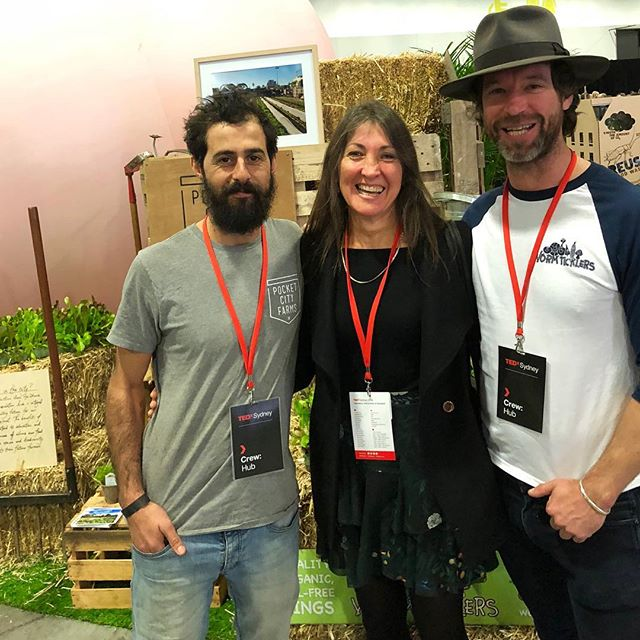 @tedxsydney | Humankind. Delving deeper today into all things humankind. Can't wait to see the day unfold. Excited to see @wormticklers_nursery x @pocketcityfarms representing urban farming at TED. Bring on year two!  #culturedartisans #tedxsydney #wormticklersnursery #humankind #pocketcityfarms