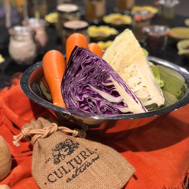 Getting our hands into Sauerkraut tonight @workshopaus with lots of probiotics, fun and flavour to add to a wet @sydney night. #culturedartisans #sauerkraut #guthealth #fun #easy