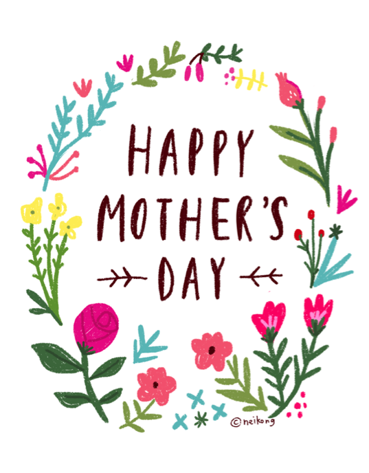 Mother's Day Card ©Neiko Ng. Available for purchase/ Licensing