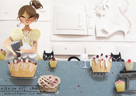 bakery girl © neiko ng