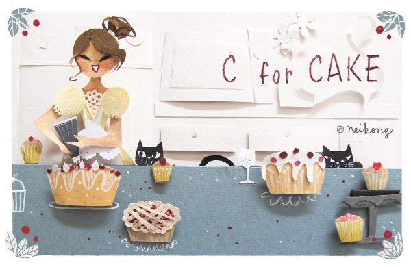 bakery papercut