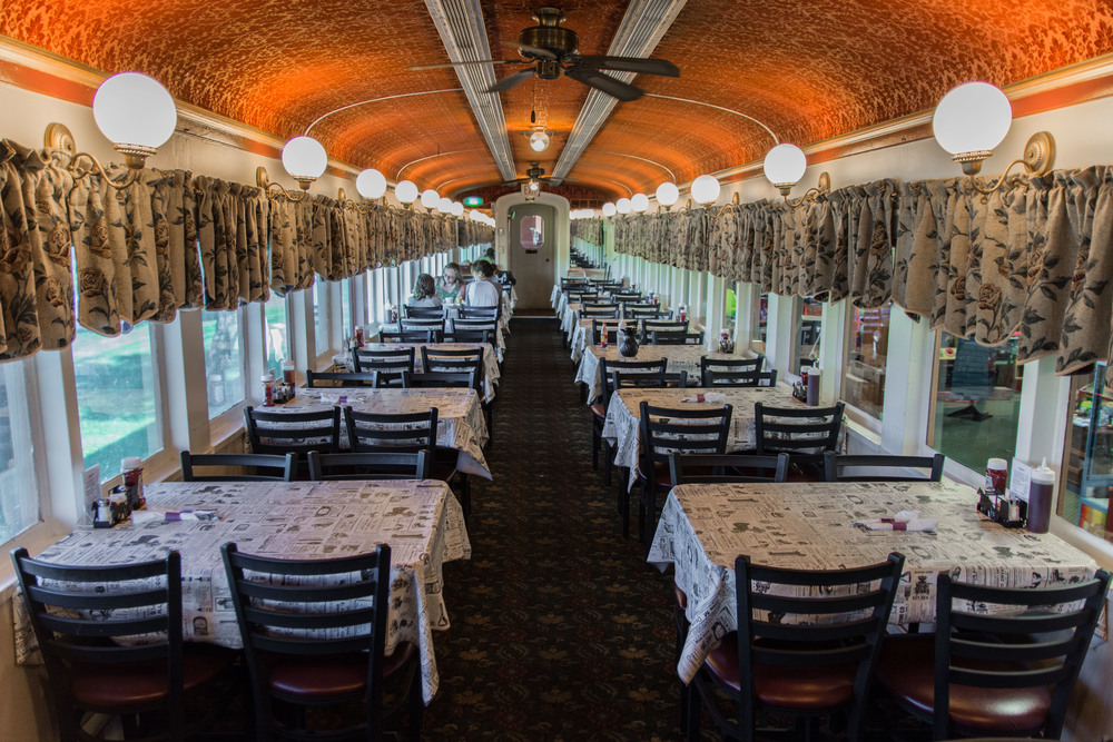 Dining car, Red Caboose Motel, Ronks PA