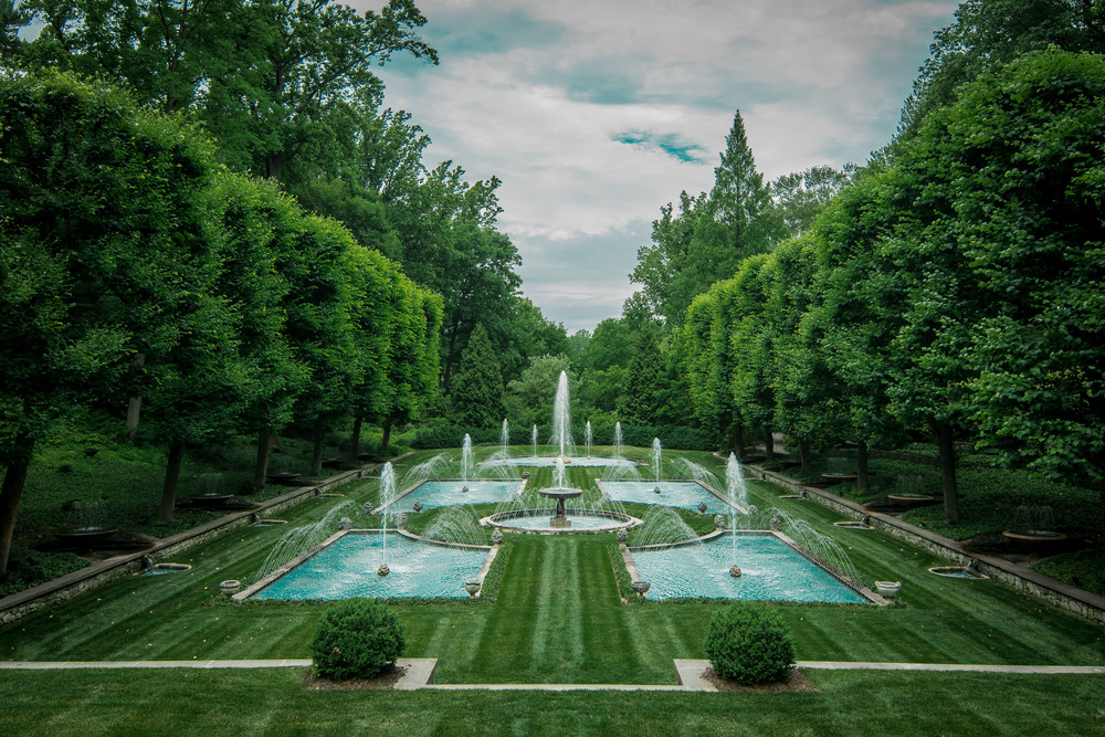 MK proclaimed that this is where she is going to get married.  Fair warning guys, it ain't gonna be cheap.  Italian Gardens, Longwood Gardens, Kennett Square, PA