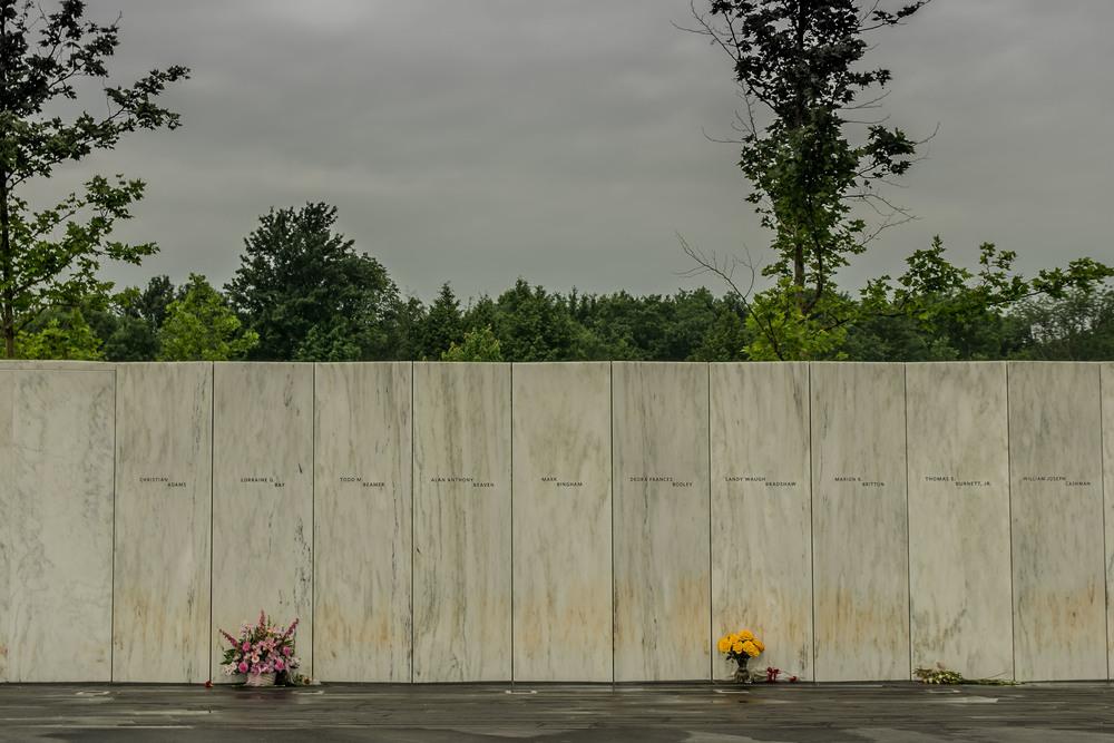 Name Wall, Flight 93 Memorial, Stoytown, PA.