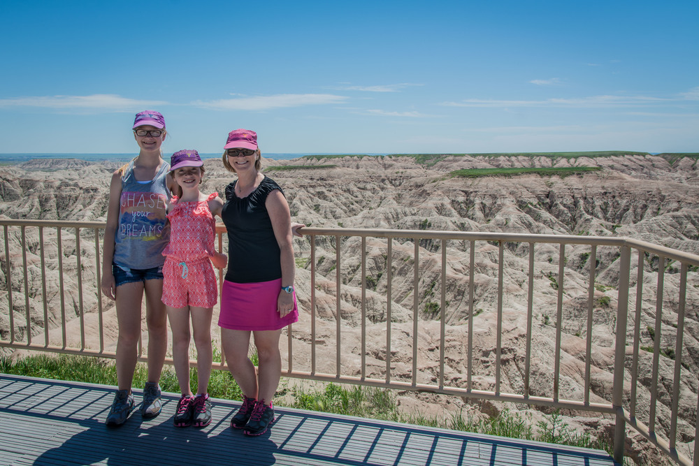 Beautiful scenery. And a National Park. Badlands NP.