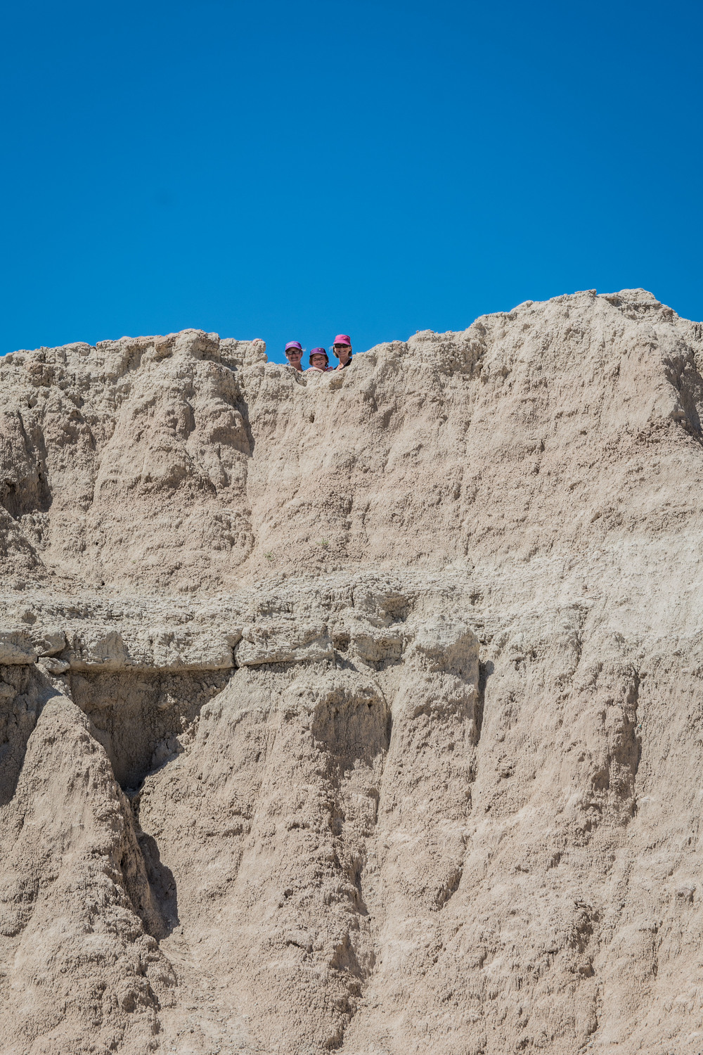 Had a good day of scrambling in Badlands NP.