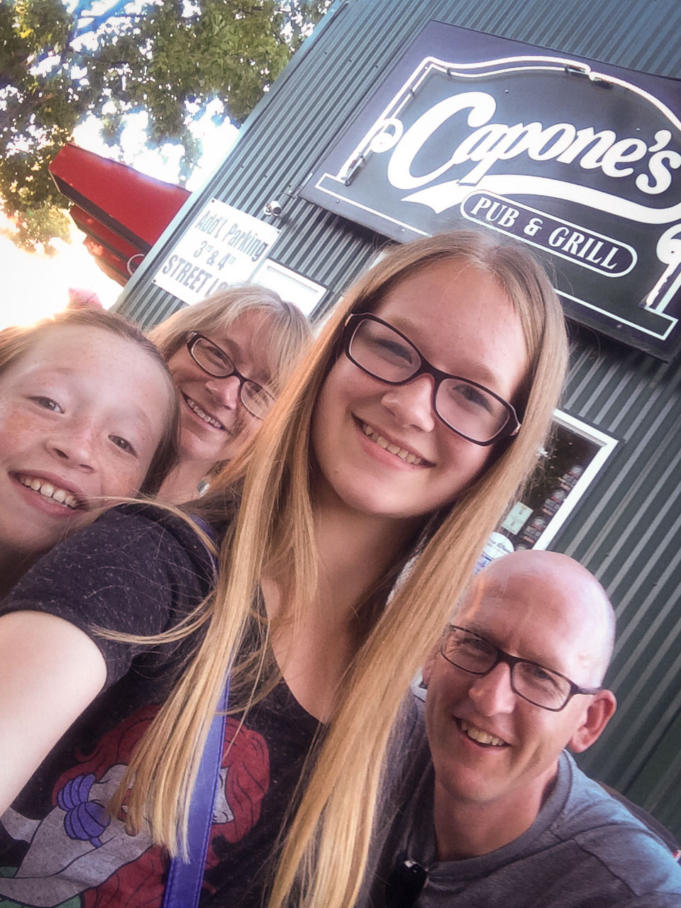 Capones = winner. And save the selfie stick comments :-)