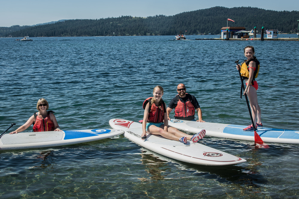 Stand Up Paddle Boarding with Chad - Coeur d'Alene, ID