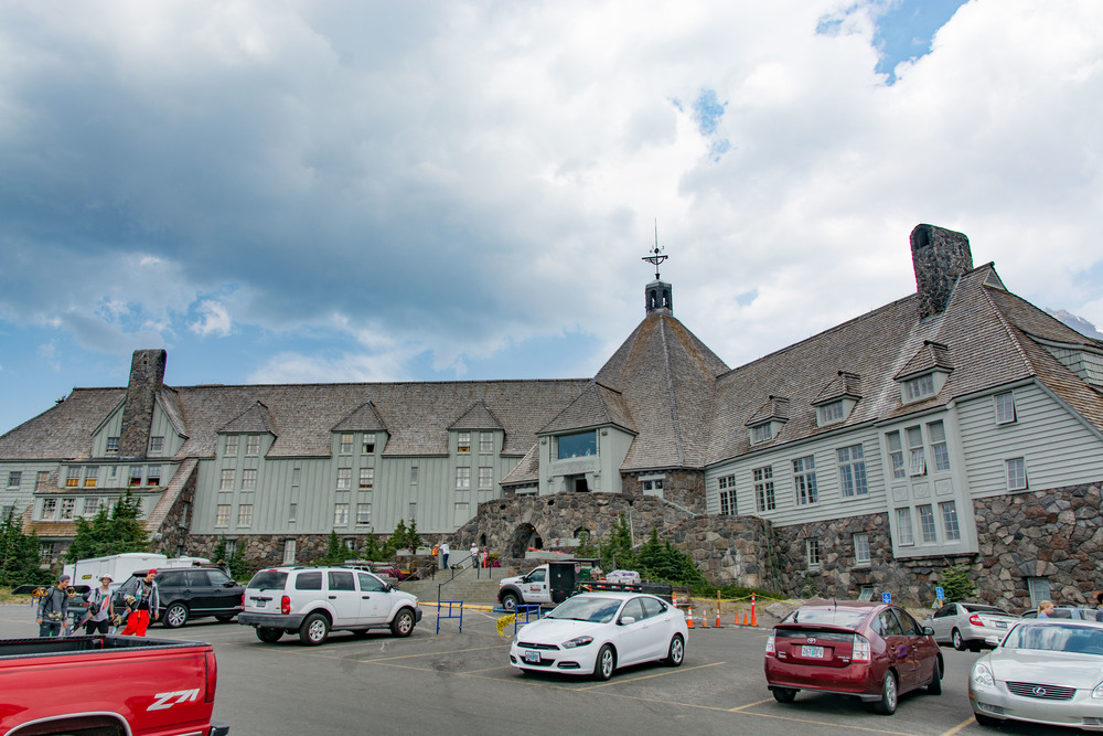 Timberline Lodge, Oregon.  It's a stunner!