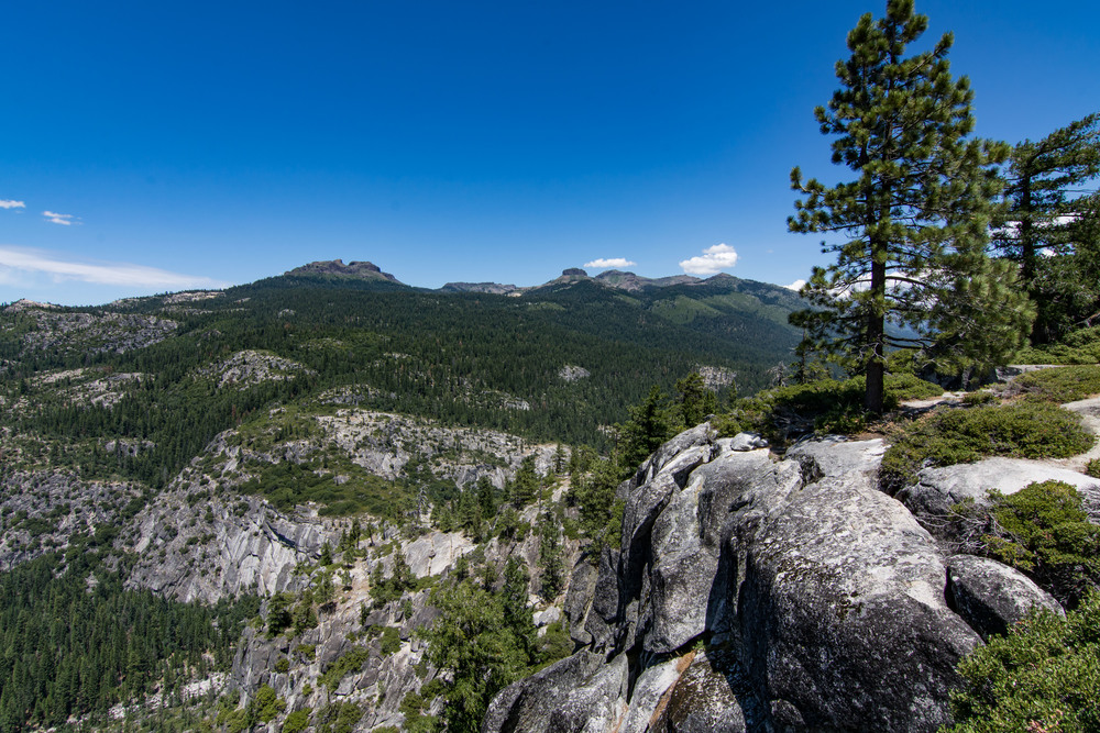 Donell Vista, Stanilaus National Forest, California.