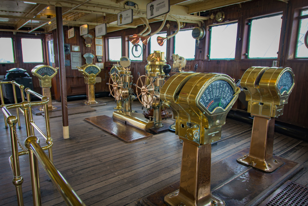 One of the dozens of completely restored original areas you could tour on The Queen Mary.
