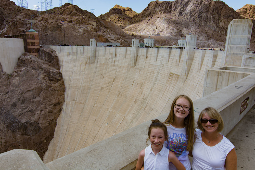 Hoover Dam.  It's real big.