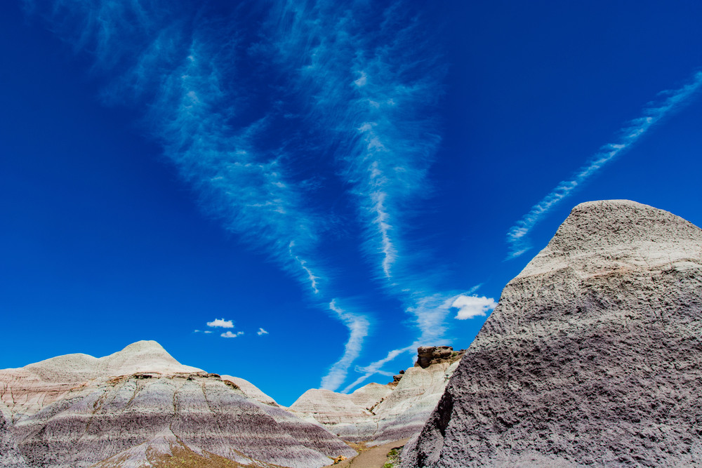 Blue Mesa Trail, Petrified Forest NP.  One of those 'like you're on another planet' areas.