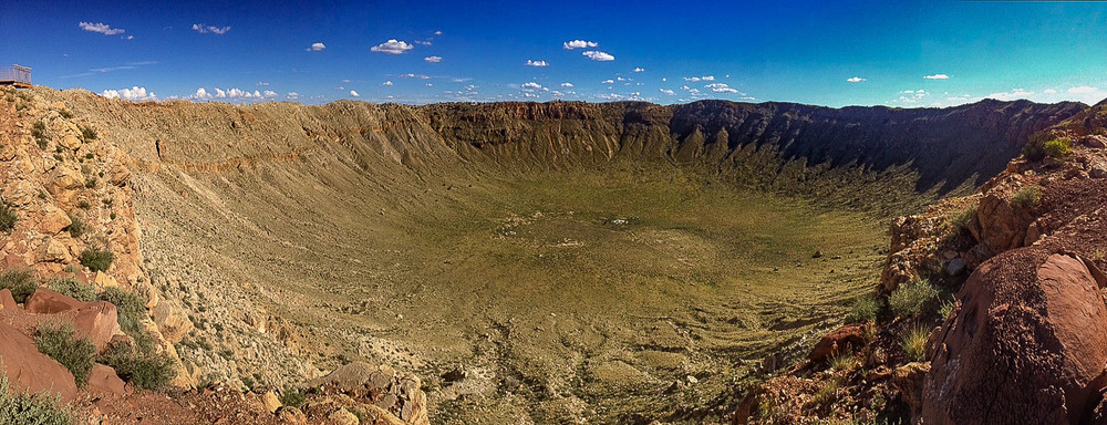 Meteor Crater.  I think I'm going to need a wider lens.