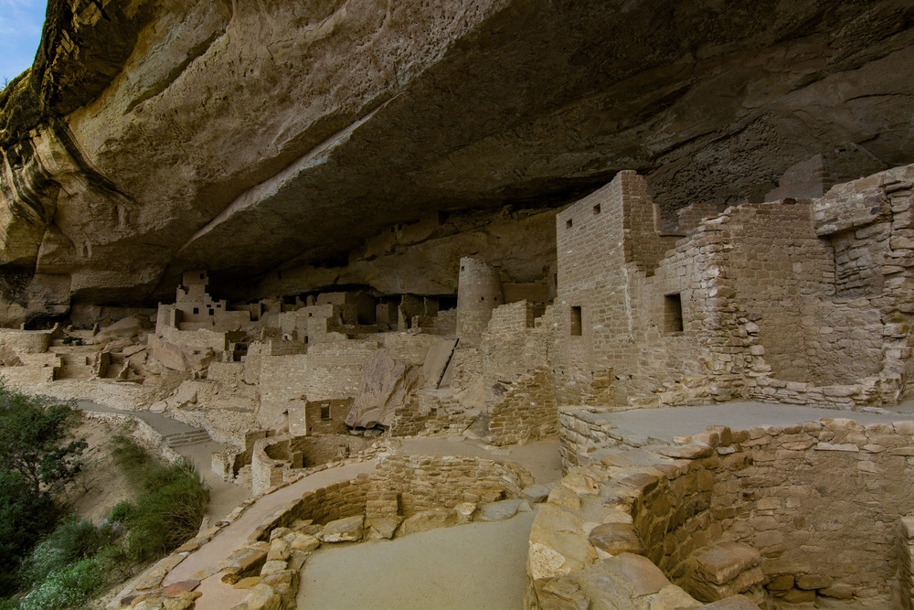 Up close and personal at Cliff Palace.