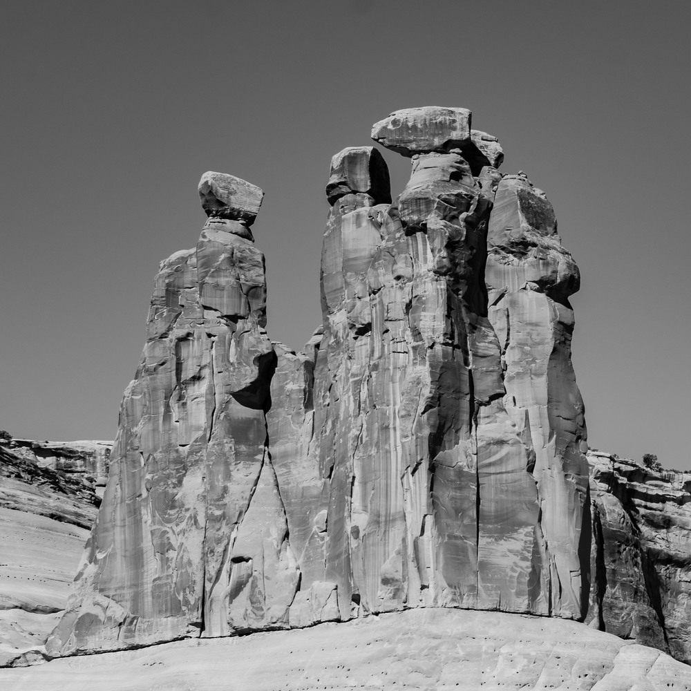 Artsy Pic #2.  The Three Gossips, Arches N.P.