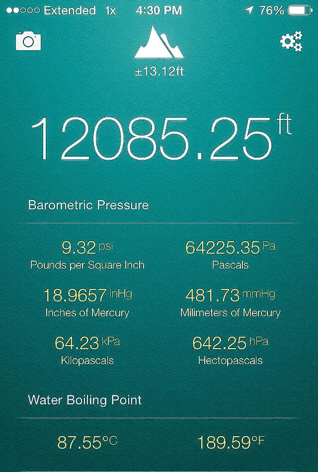 Cool Altitude app!