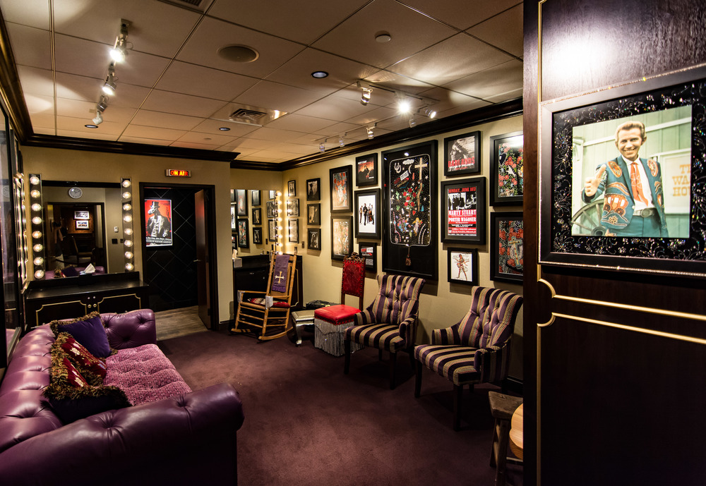 Backstage at The Opry.  This was the Marty Stuart dressing room.  I don't know who he is, but I liked his style.