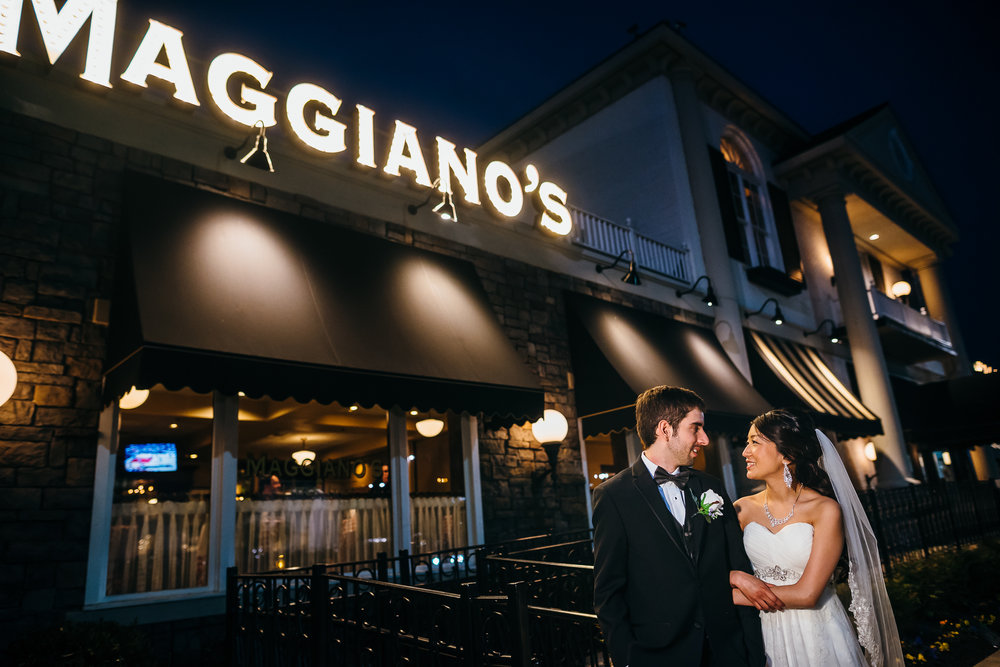 Maggiano's Little Italy Wedding