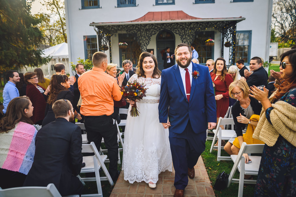 Duportail House Wedding