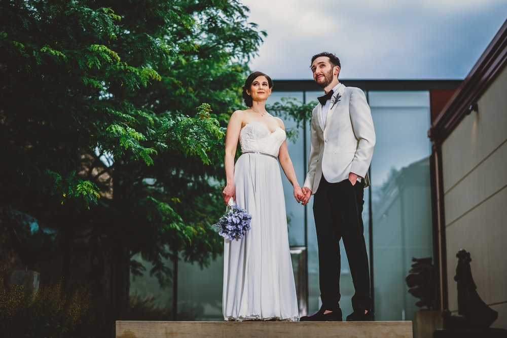 Michener Art Museum Wedding Photographer