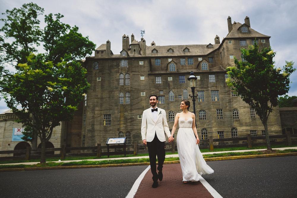 Michener Art Museum Wedding Photographer