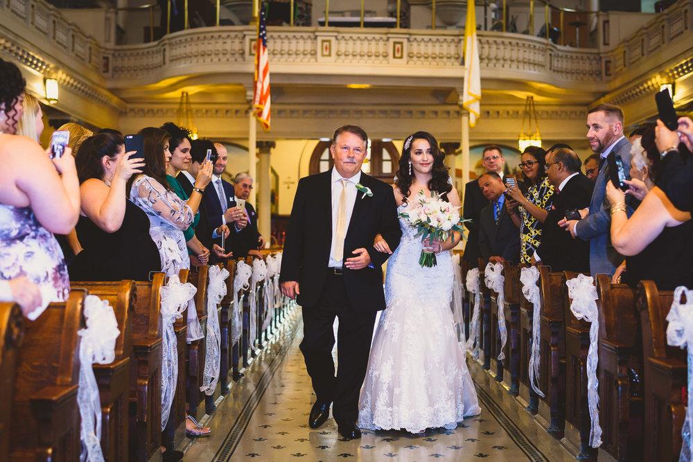 St. Augustine Catholic Church Wedding