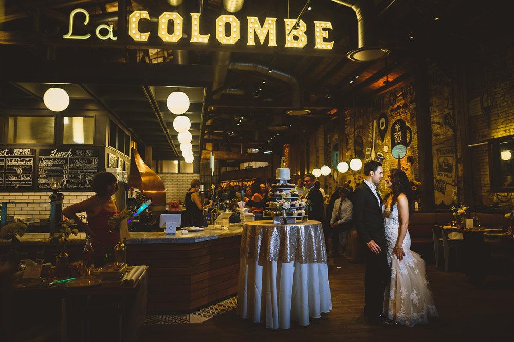 La Columbe Coffee Roasters Wedding