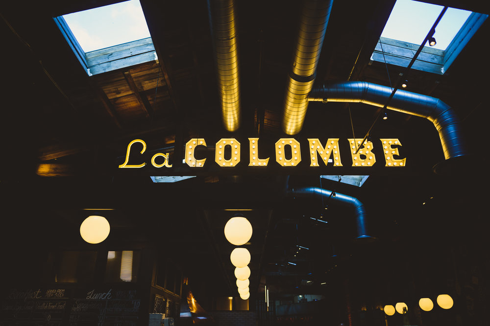 La Colombe Wedding Reception