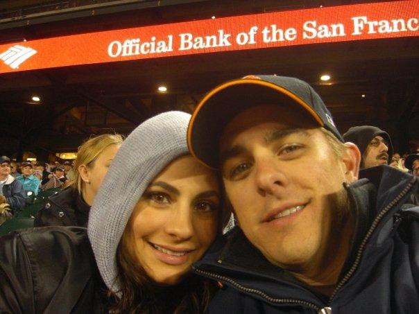 2010, with Marissa atAT&T Park