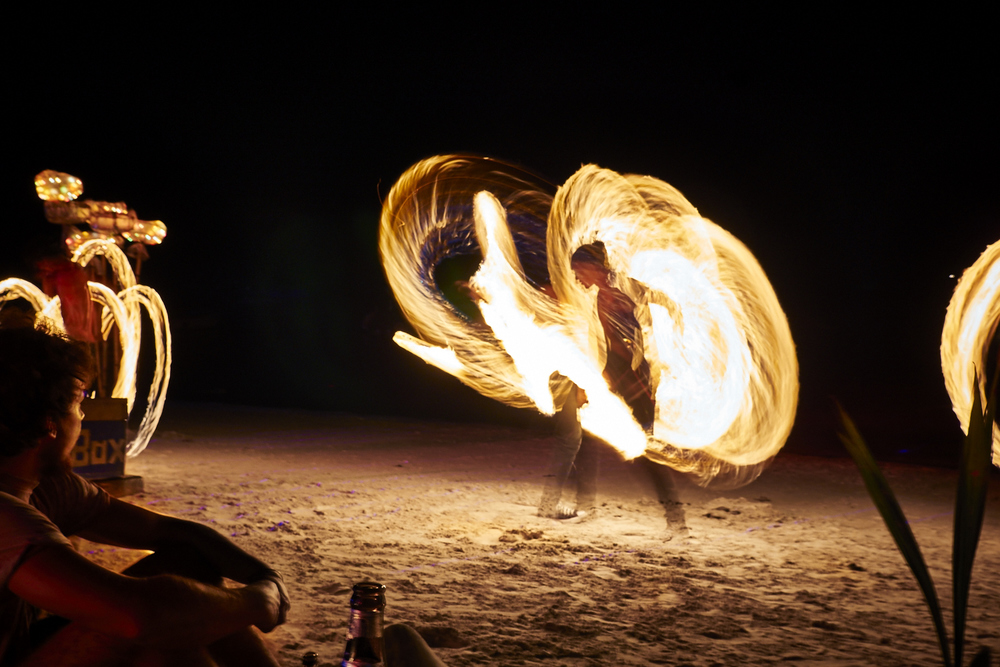Fire Dancer on Koh Tao