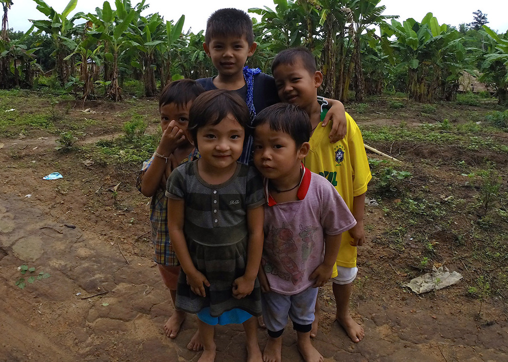 Children in Fung Na