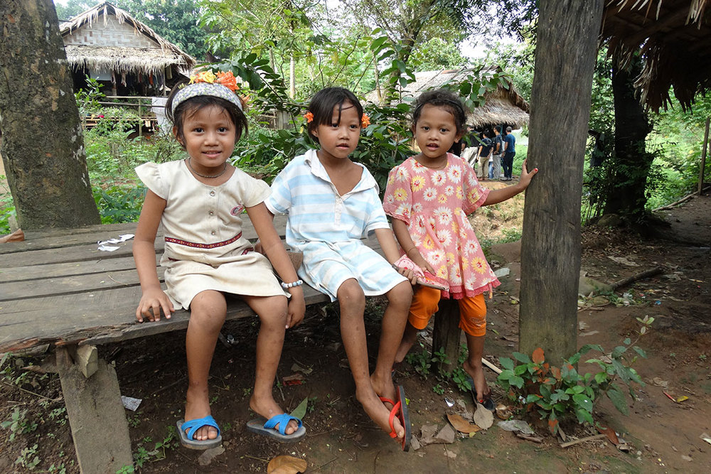 Children in Ban Mai.