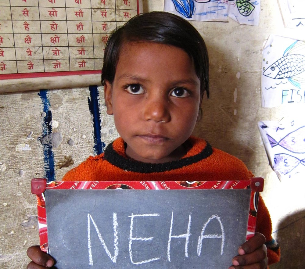 Before her sponsor - Neha was never going to attend a day of formal school.