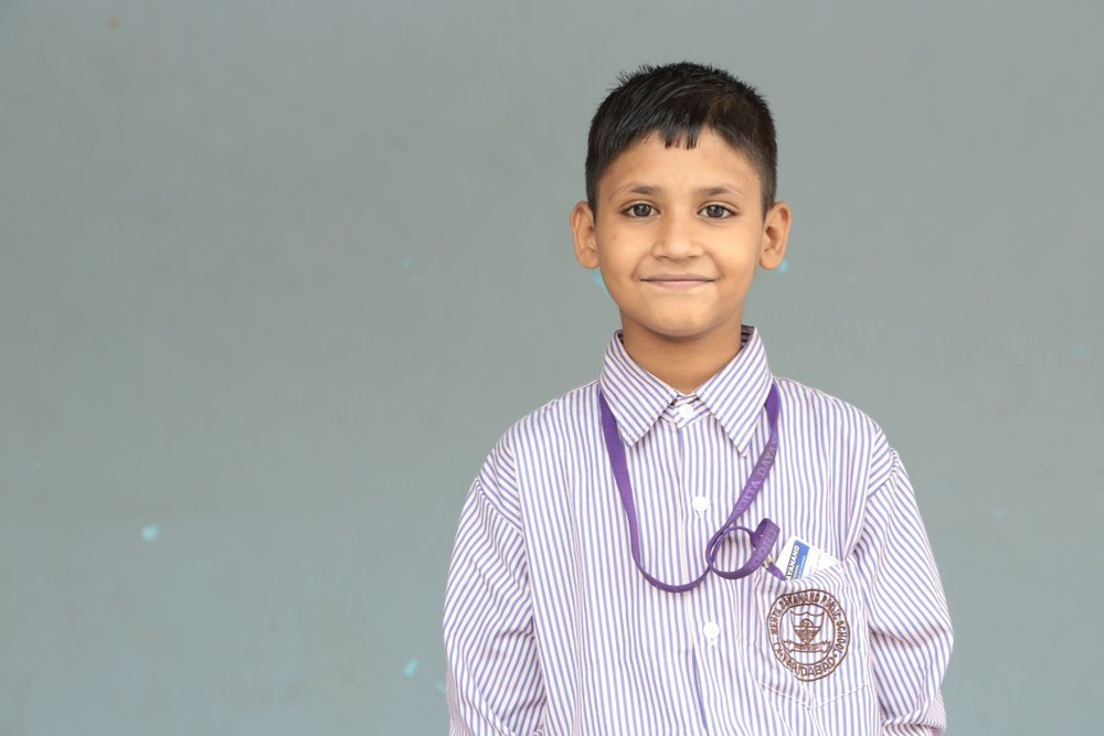Naitik - (S2S-052)Currently in need of sponsorship. Click here to sponsor Naitik or another scholar for just $30/month!Sponsored previously by the Patel family, USA
