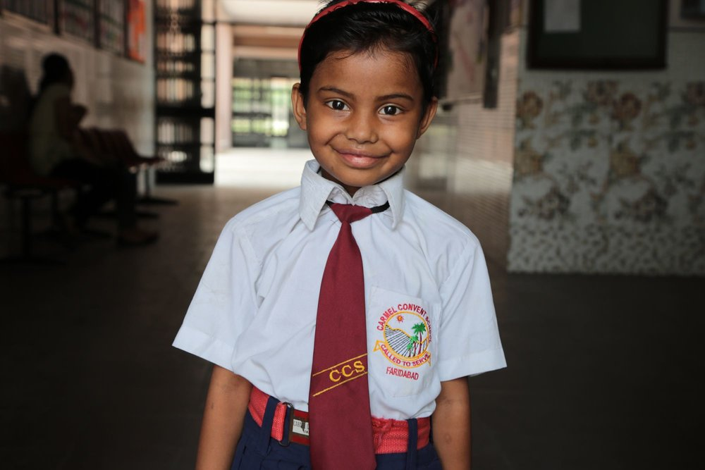 Nandni - (S2S-144)Currently in need of sponsorship. Click here to sponsor Nandni or another scholar for just $30/month!Sponsored previously by the Mirzaie family
