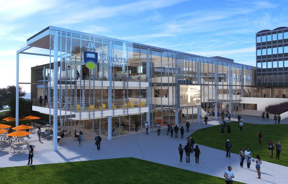 Flinders University Student Hub & Plaza