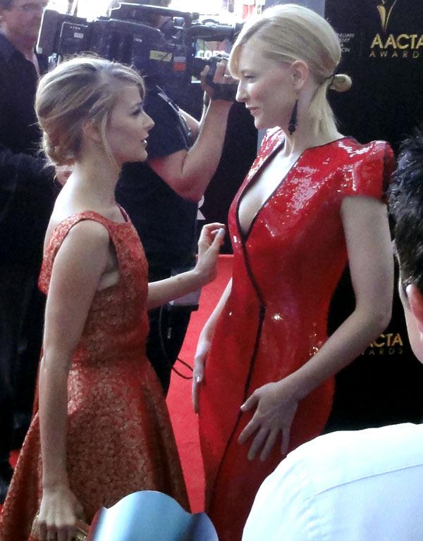 Bojana Novakovic & Cate Blanchet