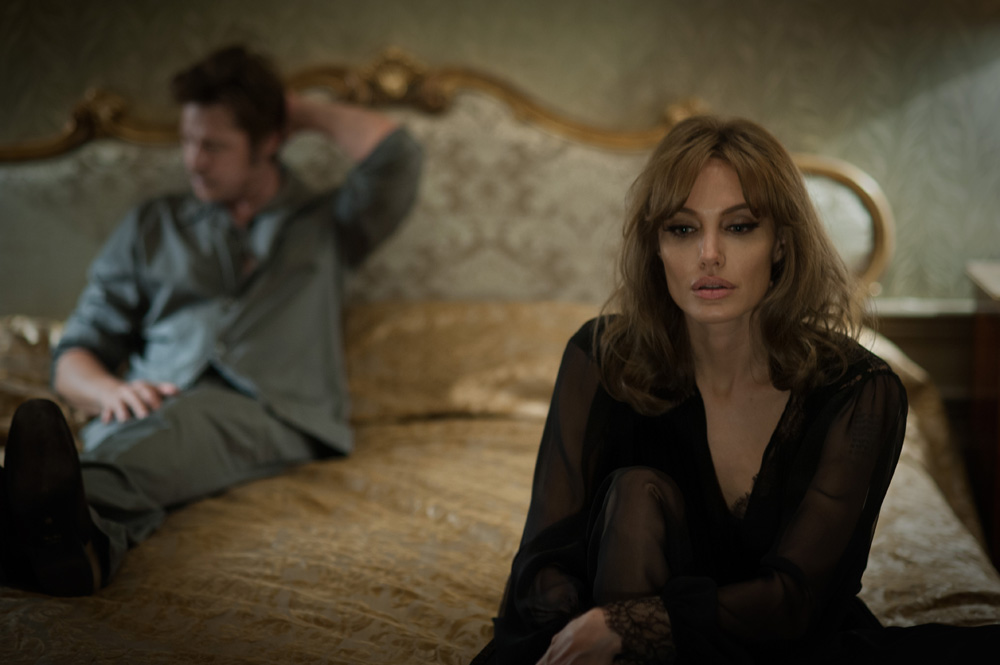 BRAD PITT & ANGELINA JOLIE PITT in By the Sea. Photo by Merrick Morton