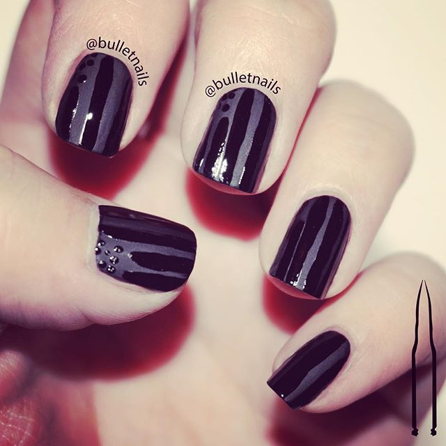 my american mourning black on black nails •• #flag #america #howdidthishappen #crumpetsnailtarts #26greatnailartideas #26gnai #nails #nailart #mani #manicure #nailswag #nailporn #nailsbyme #naildesign #nailsofinstagram #nailartaddict #polishaddict  #allthehashtags