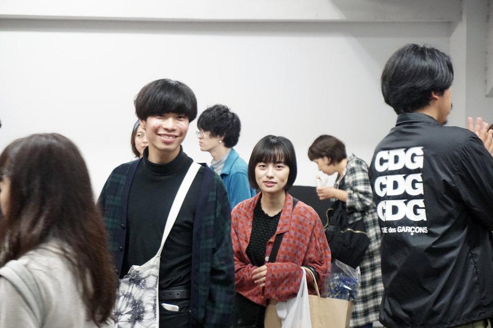 來蚤市的人大部份都是日本各地的年輕人,場內滿滿都是青春啊。