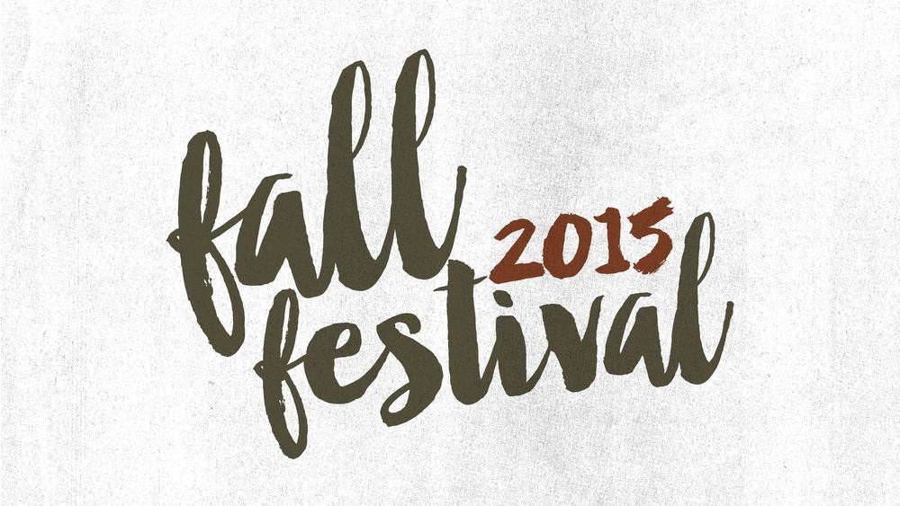 You don't want to miss our Fall Festival this year! There are so many fun things for the whole family to participate in! October 14 |6pm