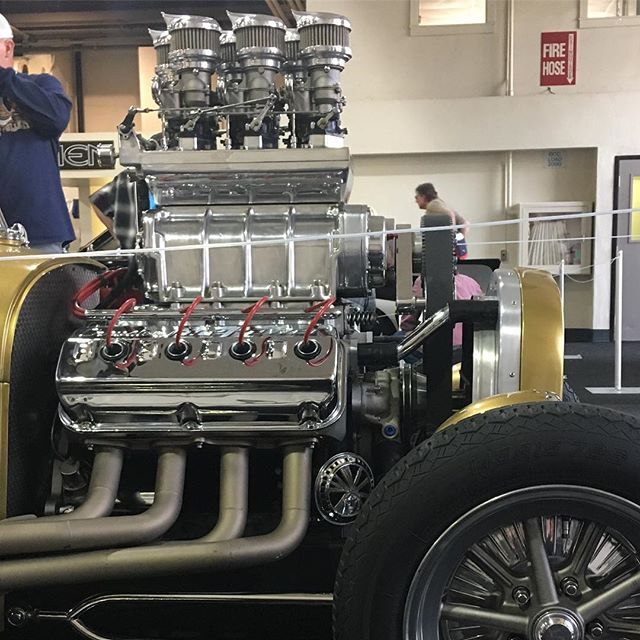 So many cool cars to see this past weekend at the Grand National Roadster Show!