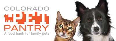 We are a donation site for Colorado Pet Pantry. Please consider donating some pet food so families in need can keep their pets!