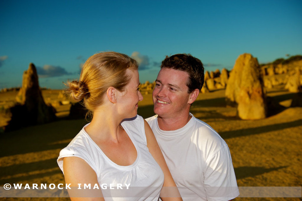 With engagement sessions couple can use the opportunity to visit a location that just isn't possible during the wedding.